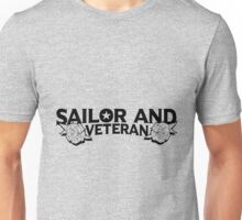 Sailor and Veteran Roses Unisex T-Shirt