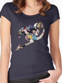 Fairy tail logo Women's Fitted Scoop T-Shirt