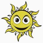 Sun Smiley by Richard Edwards