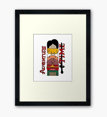 Adventure Time! Framed Print