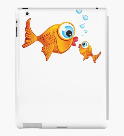 Critterz - Fish :: Olive & Pickles iPad Case/Skin