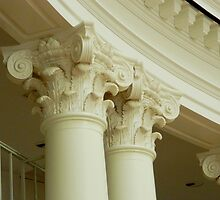 Inside the Rotunda-Architectural Detail by ctheworld
