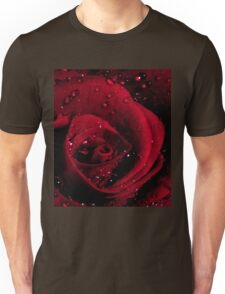 Red Rose Macro Unisex T-Shirt