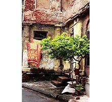 Patio Photographic Print