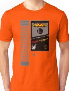 Nes Cartridge: Super Smash Bros Unisex T-Shirt