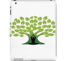 Yoga tree iPad Case/Skin