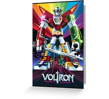 Grande Voltron Greeting Card