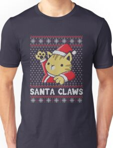 Cat Santa Claws Unisex T-Shirt