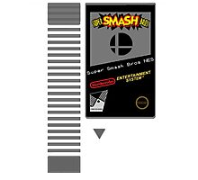 Nes Cartridge: Super Smash Bros Photographic Print