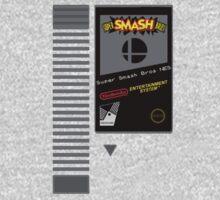 Nes Cartridge: Super Smash Bros by PowerArtist