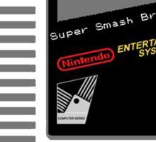 Nes Cartridge: Super Smash Bros Sticker