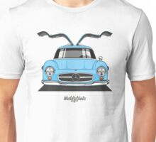 Mercedes-Benz 300 SL (W198) (light blue) Unisex T-Shirt