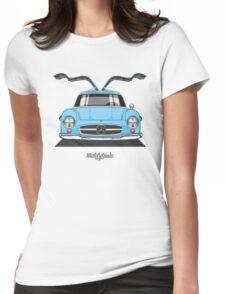 Mercedes-Benz 300 SL (W198) (light blue) Womens Fitted T-Shirt