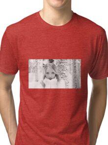 December - Nature & Humanity Tri-blend T-Shirt