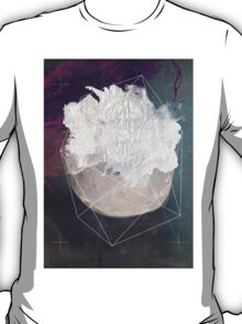 Abstract white volcano T-Shirt