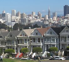 """Painted Ladies"" - San Francisco, California by waynebolton"