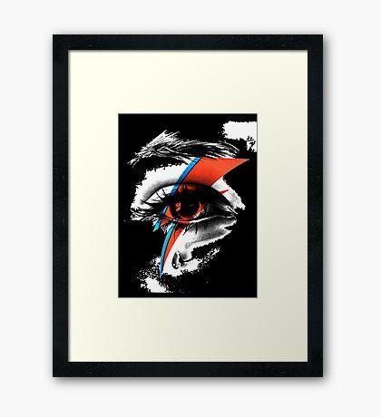 thunder eye Framed Print