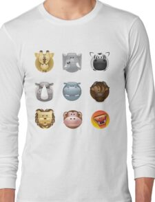 animal heads Long Sleeve T-Shirt