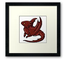 Chibi Smaug - Graphic  Framed Print