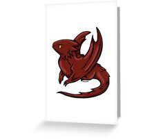 Chibi Smaug - Graphic  Greeting Card