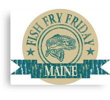 MAINE FISH FRY Canvas Print