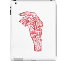 Red Right Hand iPad Case/Skin