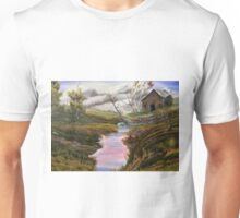 Sycamore by the barn Unisex T-Shirt