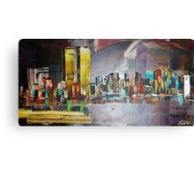 attacks on New York City twin towers 9/11 Canvas Print