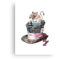 The Doormouse Canvas Print