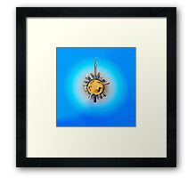 Planet Dubai Framed Print