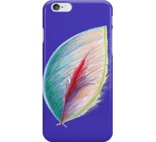 Feather in the wind iPhone Case/Skin
