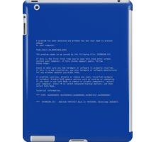 BSoD iPad Case/Skin