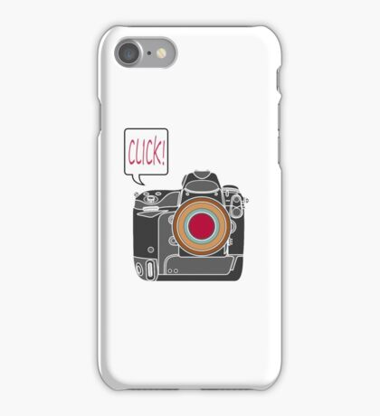 Click iPhone Case/Skin