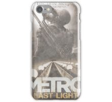 Enter The Metro - Fan Poster iPhone Case/Skin