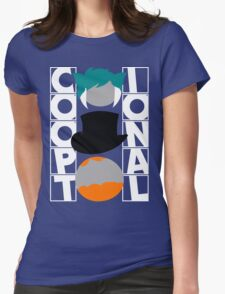 The Co-optional Podcast Womens Fitted T-Shirt