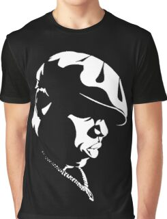Biggie Stencil Graphic T-Shirt