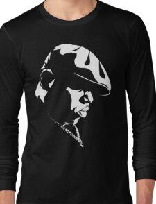 Biggie Stencil Long Sleeve T-Shirt