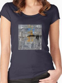 Abstract Expression Women's Fitted Scoop T-Shirt