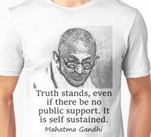 Truth Stands - Mahatma Gandhi Unisex T-Shirt