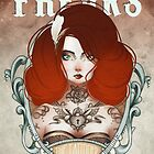 The Beauty Freaks - The Tattooed by France Mansiaux