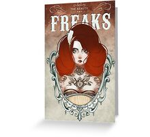 The Beauty Freaks - The Tattooed Greeting Card