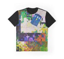Tardis (abstract-informel-tachisme) Graphic T-Shirt