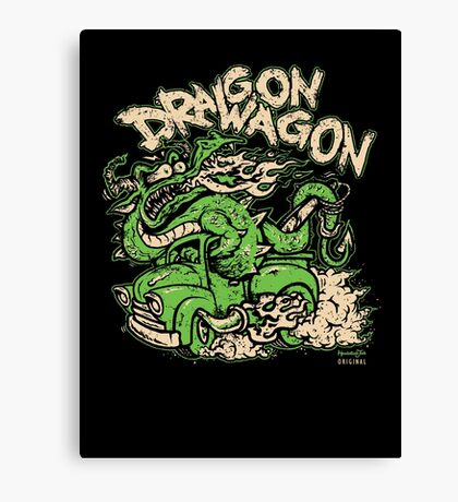 Dragon Wagon Canvas Print