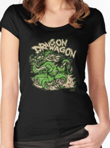 Dragon Wagon Women's Fitted Scoop T-Shirt