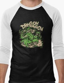 Dragon Wagon Men's Baseball ¾ T-Shirt