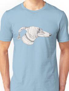 Winter Whippet  Unisex T-Shirt