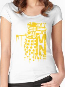EXTERMINATE 2 Women's Fitted Scoop T-Shirt