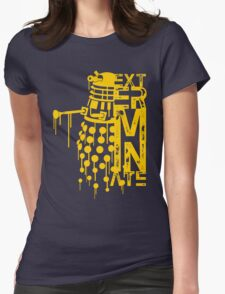EXTERMINATE 2 Womens Fitted T-Shirt