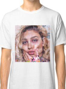 pink portrait Classic T-Shirt