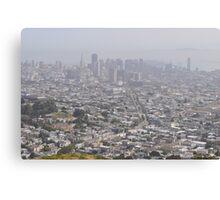 San Francisco View Canvas Print